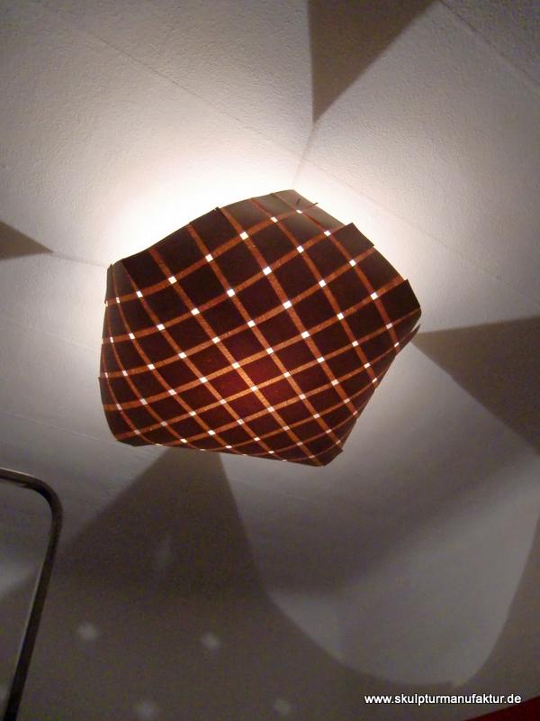 Deckenlampe, Buche